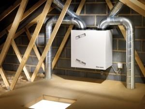 Приточно-вытяжная вентиляция является довольно компактной и более экономичной в эксплуатации.