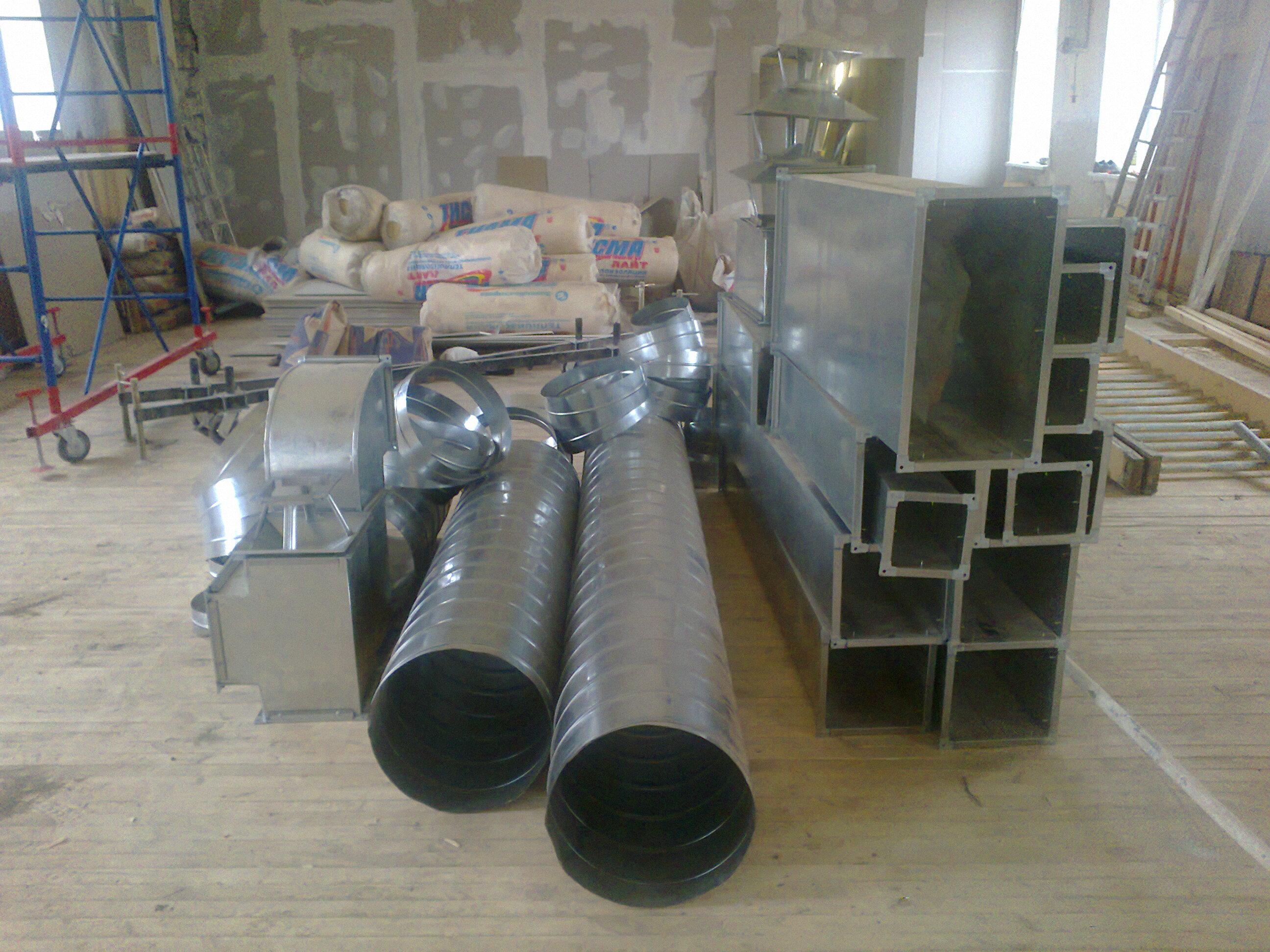 Качественное оборудование для вентиляции как для промышленных так и для бытовых помещений.
