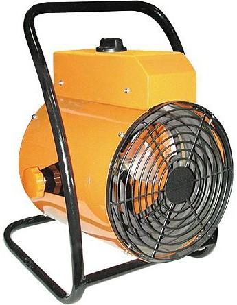промышленный тепловентилятор отлично справляется с обогревом складских и промышленных помещений без центрального отопления.