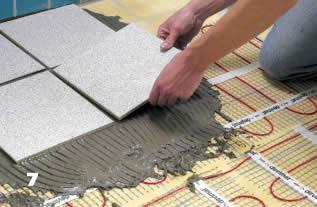 Монтаж теплого пола компанией Л-Климат осуществляется с гарантией на несколько лет.